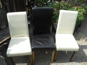 high backed dining chairs