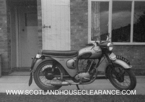 Antique Motorbike Three