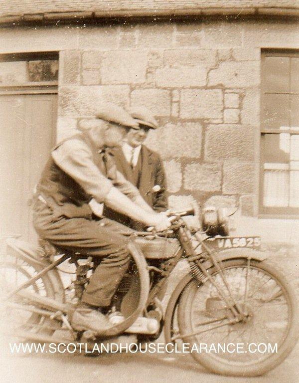 Antique Motorbike One