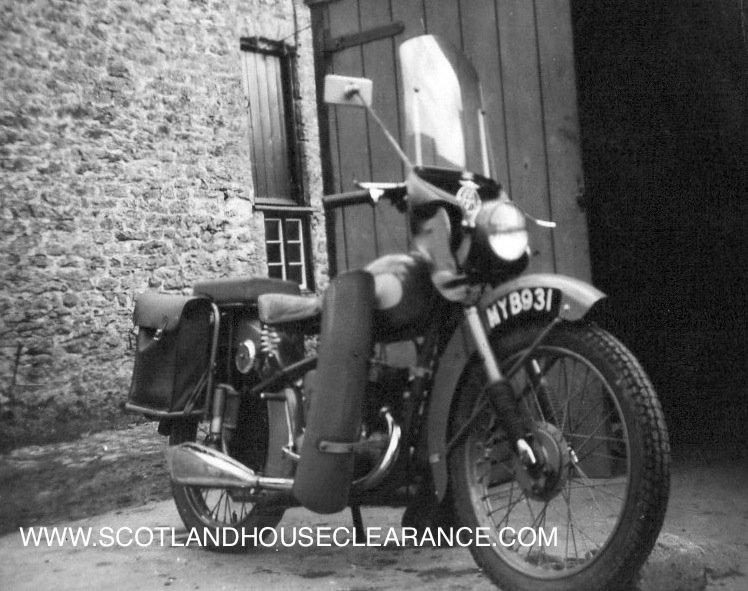 Antique Motorbike Two
