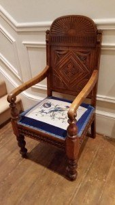 Victorian hall chair