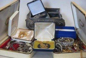 diamante costume jewellery