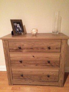 oak dresser drawers