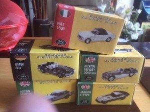 ollectible car models