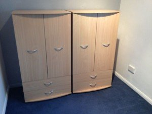 double wardrobes