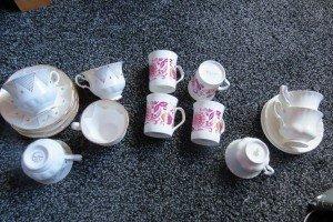 various tea set