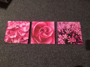 floral wall canvases