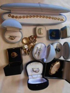 boxed solid silver jewellery