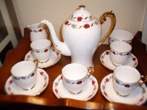 English China coffee set