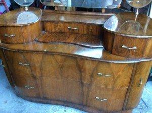 kidney shaped dresser