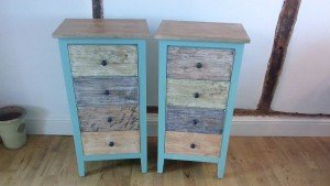 shabby chic side drawers,
