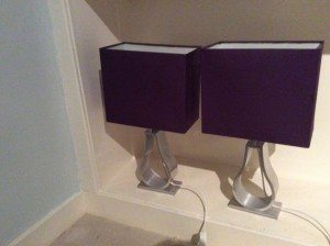 chrome table lamps