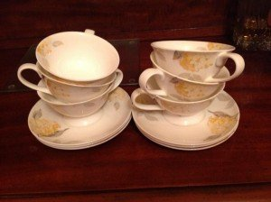 A Laura Ashley teaset