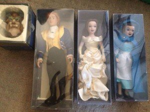 Disney boxed porcelain dolls