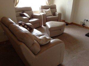 four piece sofa suite