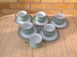Denby tea set