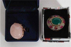 boxed costume jewellery