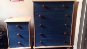 two bedroom drawers