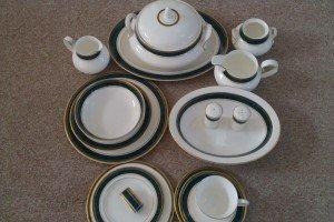 porcelain dinner/ tea service