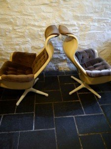 space age swivel chairs