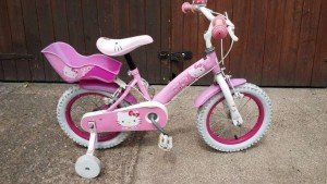 patterned bike