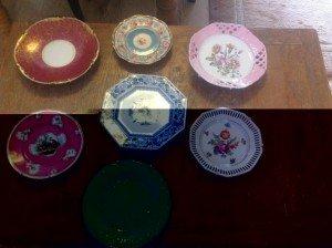 colourful plates