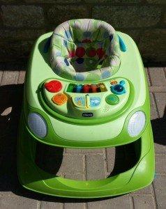 plastic baby walker