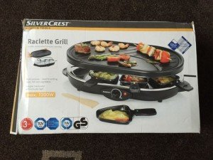 Silver Crest Raclette SRG grill