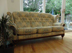 classic three seater sofa