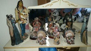 ceramic ornamental figures