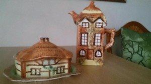 ornamental teapot