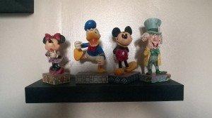 Disney ceramic ornaments