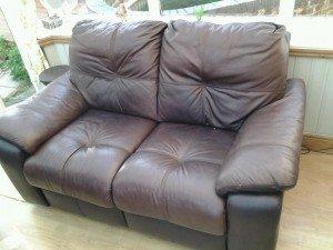 recliner sofa.
