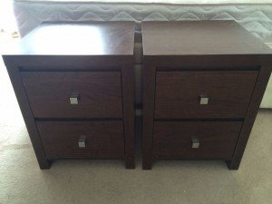 dark brown drawers