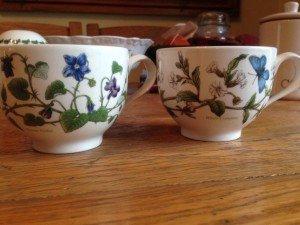 ceramic Port Meirion teacups