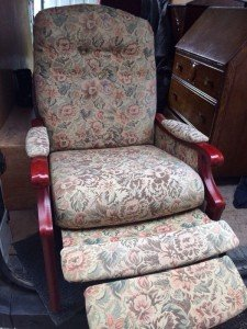 reclining nursing chair