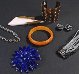 collection of costume jewellery,