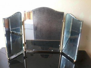 bevelled edged mirror