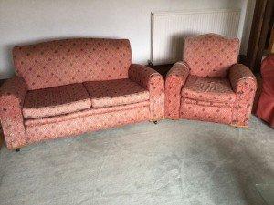 930's sofa suite