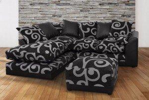 high raised corner sofa