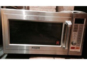 combination microwave and oven