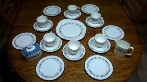 Pastorale tea service
