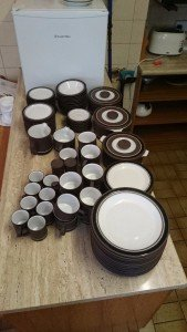 vintage Hornsea kitchenware