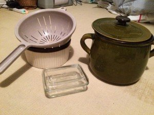 collection of kitchen accessories
