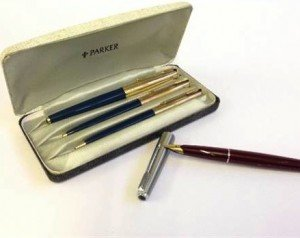 Parker 65 turquoise set