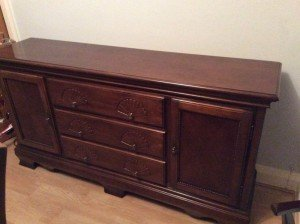 vintage sideboard dresser