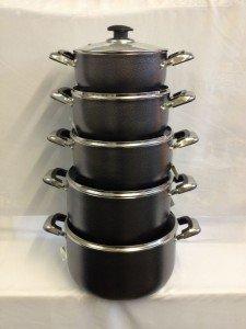 casserole lidded pan set