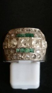 chunky engagement ring