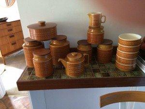 Hornsea Saffron kitchen accessories