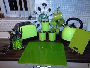 lime kitchen accessories
